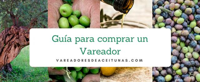 vareadores de aceitunas para el uso en la recolección de los olivos y producción de aceite