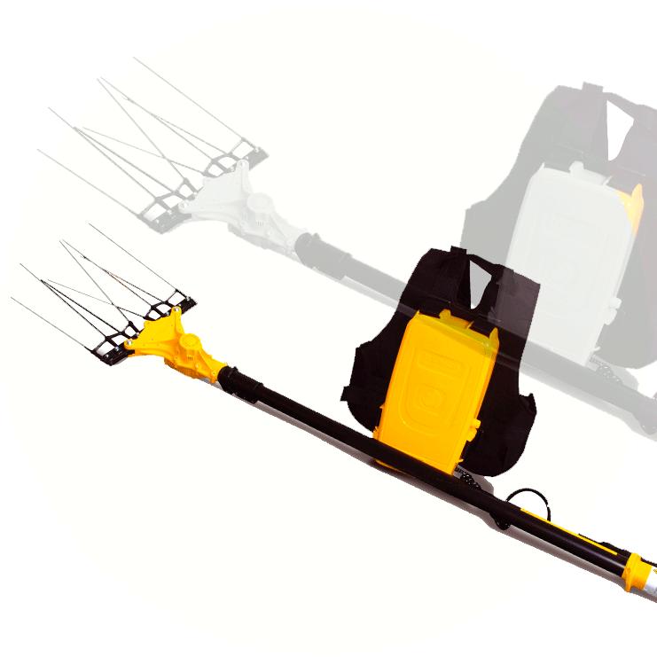 peine electrico para varear olivos. vareador de aceitunas eléctrico